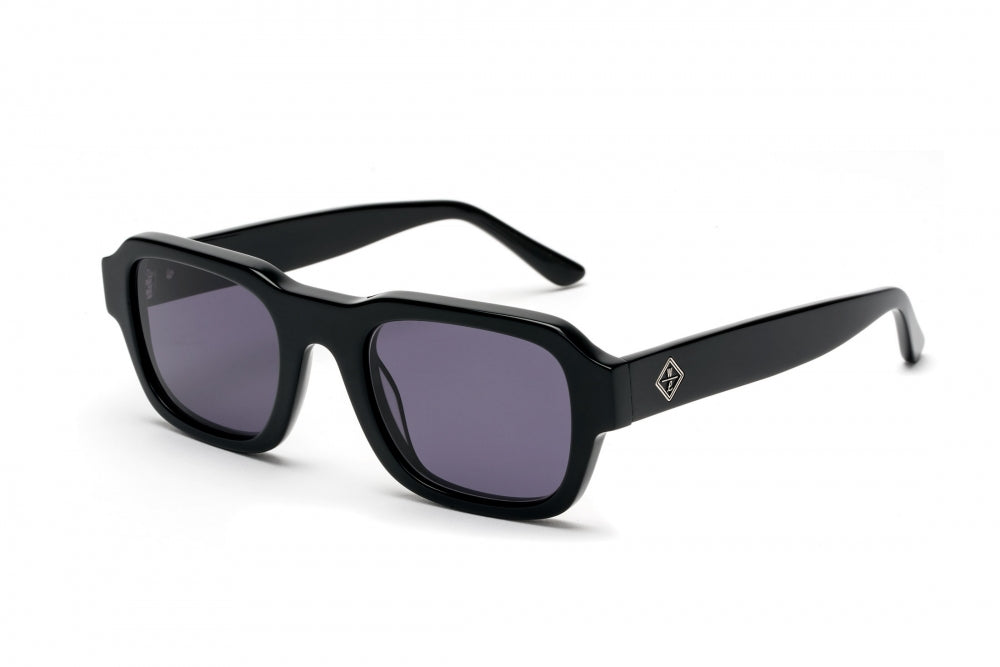 WONDERLAND BADLANDS GLOSS BLACK GRAY SUNGLASSES