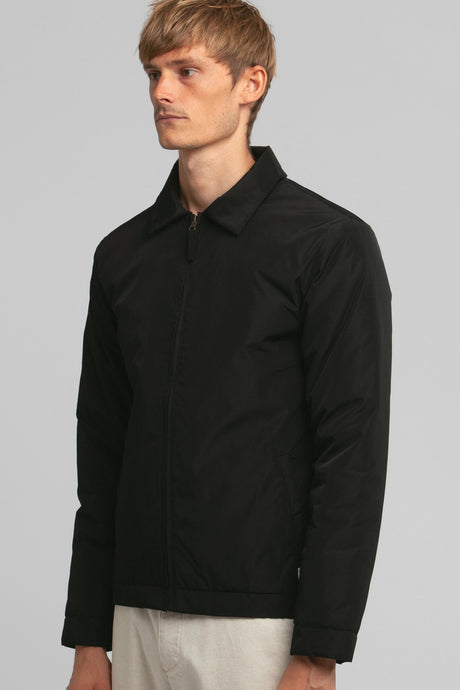 RHYTHM JAMES NYLON JACKET BLACK