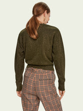 Load image into Gallery viewer, SCOTCH & SODA CROPPED KNOT LONG SLEEVE