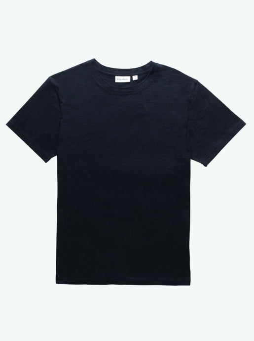 RHYTHM ESSENTIAL SLUB T-SHIRT BLACK