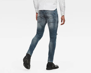 Faded Quartz 5620 3d zip knee skinny Jeans (34 LENGTH)