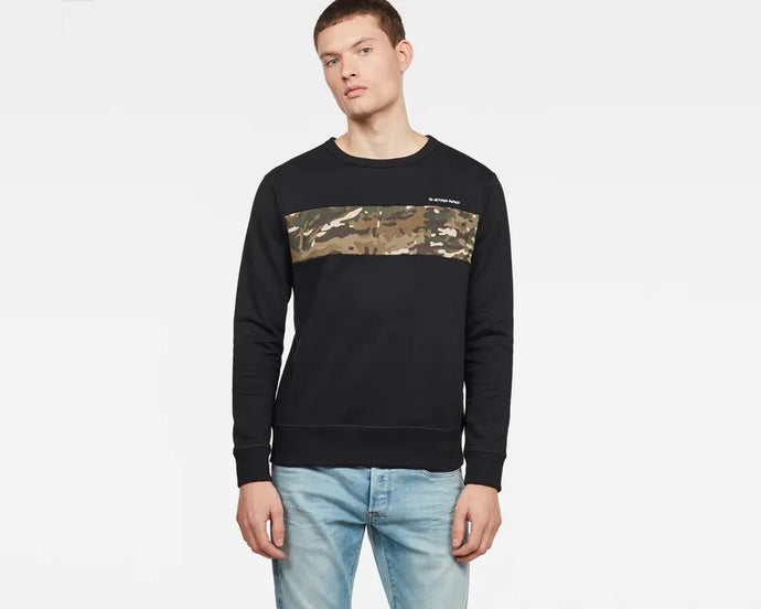 Core Camo Block Sweater