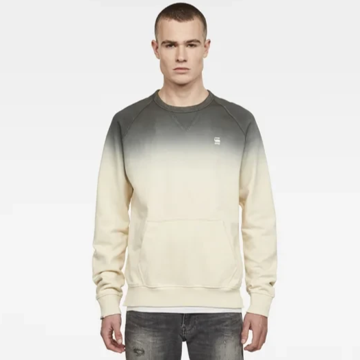 G STAR DIP DYE SWEATER