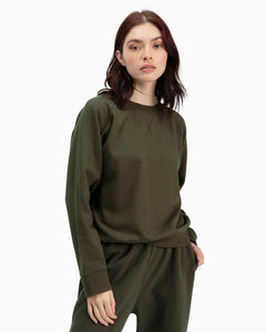 RICHERPOORER CREW SWEATSHIRT IVY