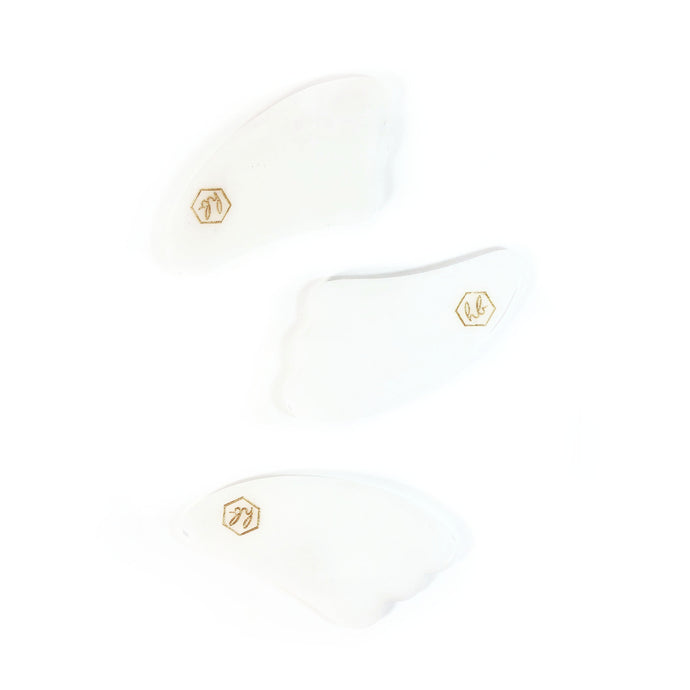 HONEY BELLE WHITE JADE SCRAPER