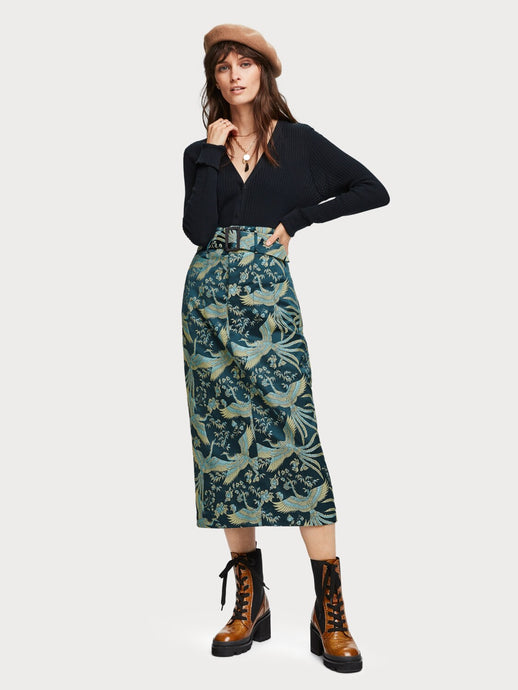 SCOTCH & SODA JACQUARD SKIRT