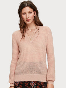 SCOTCH & SODA V-NECK PULLOVER