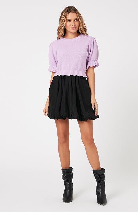 MINKPINK FABIENNE MINI SKIRT
