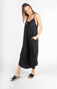 LIRA JESSA JUMPSUIT BLACK