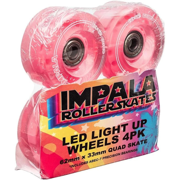 4 PACK LIGHT-UP LED WHEELS