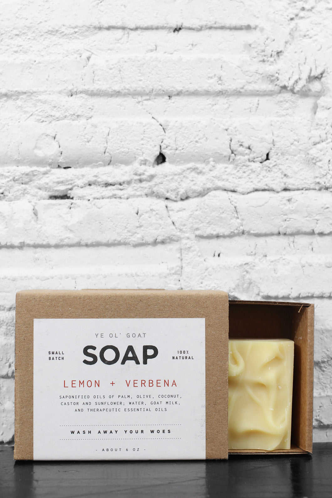 Manready Mercantile Lemon + Verbena Soap