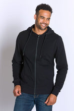 Load image into Gallery viewer, ABLY PIONEER HOODED JACKET BLACK