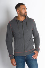Load image into Gallery viewer, ABLY PIONEER HOODED JACKET CHARCOAL