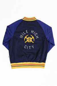DENVER NUGGETS MILE HIGH CITY SATIN JACKETS