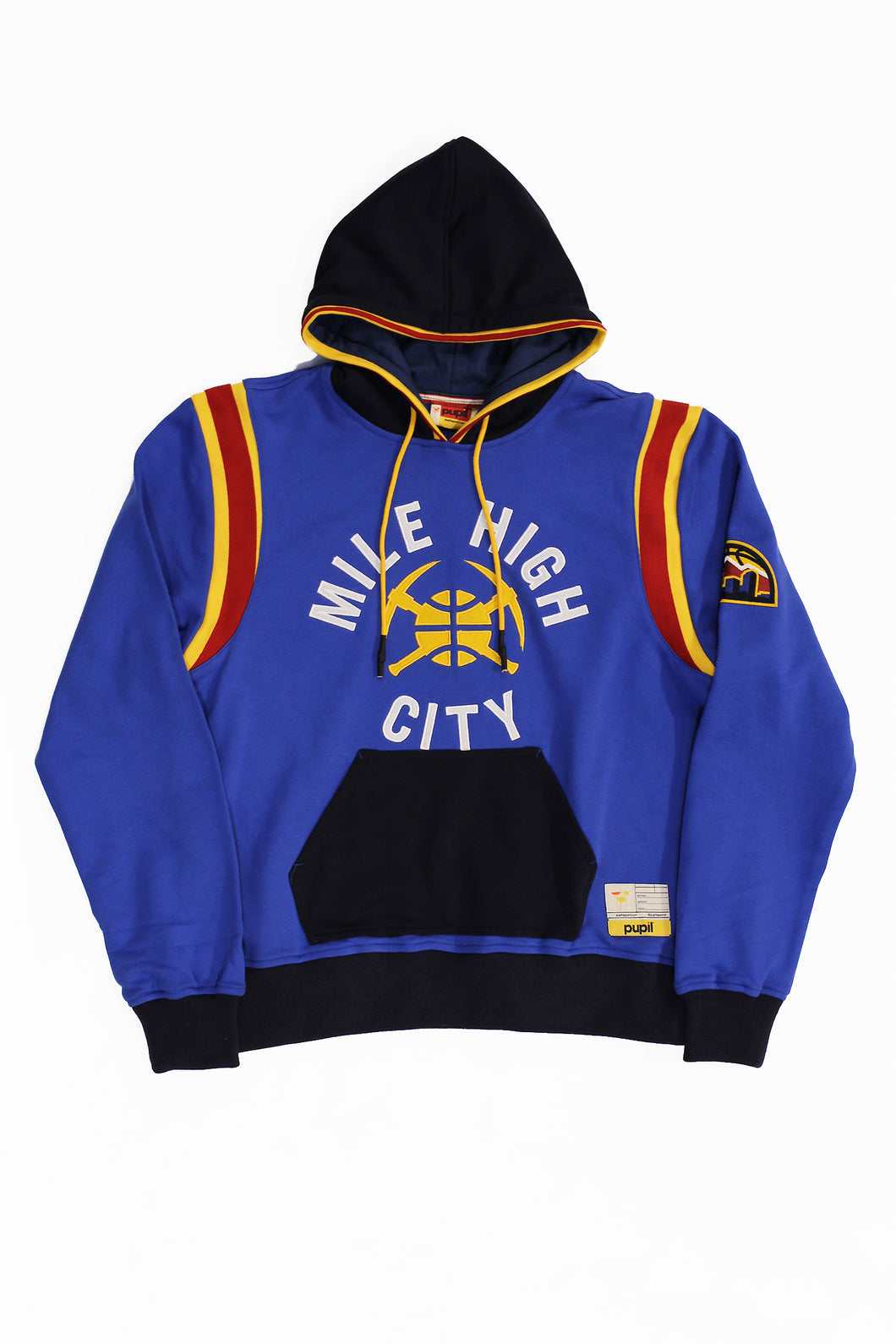 DENVER NUGGETS MILE HIGH CITY HOODY