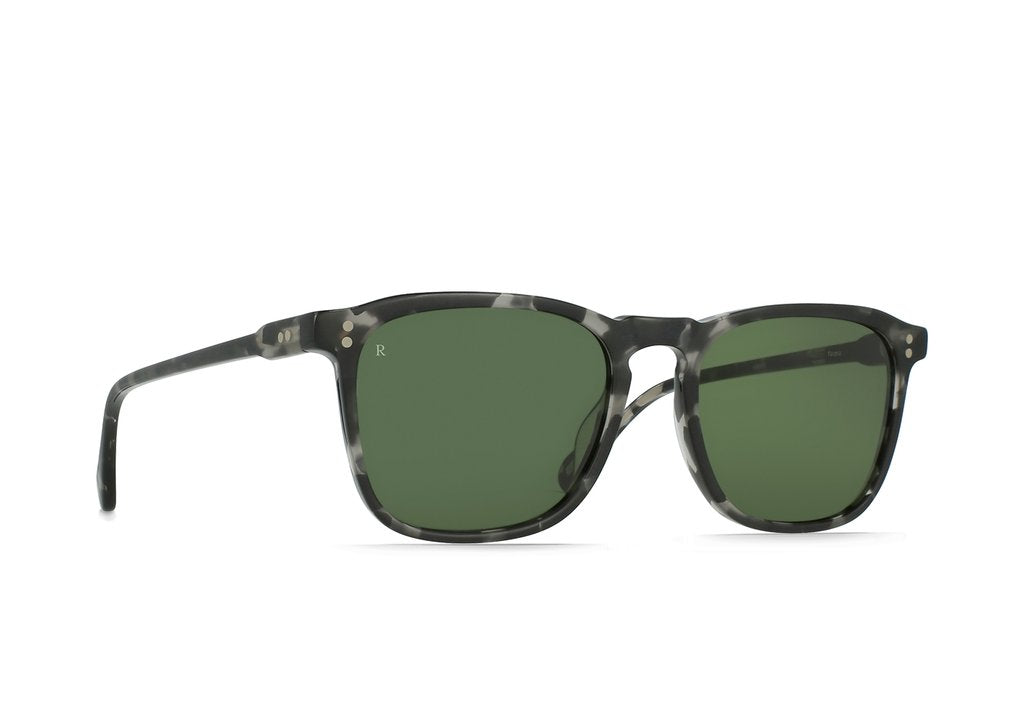 RAEN WILEY FAUNA BOTTLE GREEN SUNGLASSES