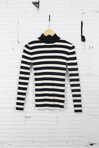 Scotch and Soda rib knit sweater