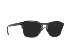 RAEN Charcoal Tortoise + Onyx / Darker Smoke Polarized SUNGLASSES