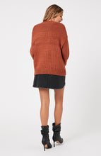 Load image into Gallery viewer, MINKPINK YOANNA CHUNKY FRINGE KNIT BRONZE
