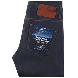 NAKED & FAMOUS SUPERGUY NIGHTSHADE STRETCH SELVEDGE