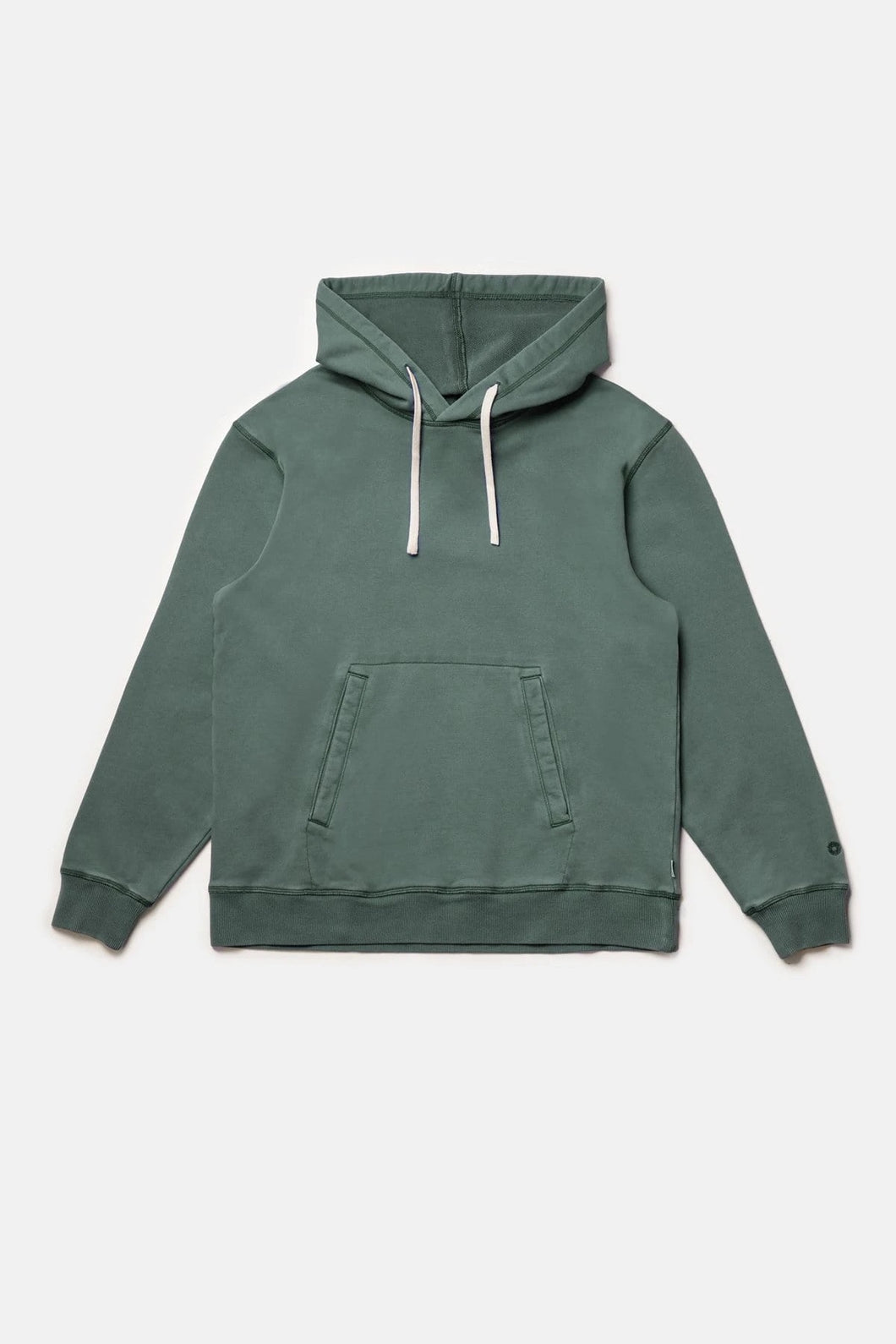RHYTHM UNI FLEECE HOOD LIGHT TEAL