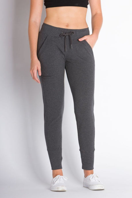 ABLY LEILANI JOGGERS CHARCOAL