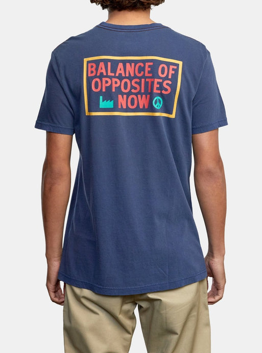 RVCA BALANCE NOW SHORT SLEEVE T-SHIRT