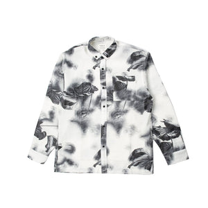 FOLIAGE LONG SLEEVE BUTTON UP