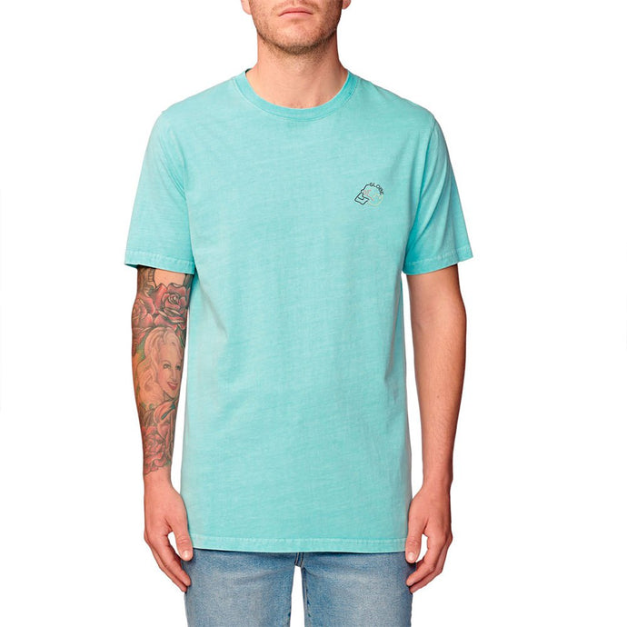 GLOBE NEON DREAMS T-SHIRT WASHED MINT