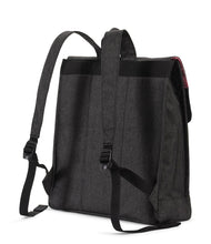 Load image into Gallery viewer, HERSCHEL CITY BACKPACK MID BLACK CROSSHATCH
