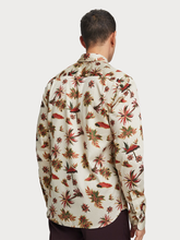 Load image into Gallery viewer, SCOTCH AND SODA ISLAND PRINT LONG SLEEVE BUTTON UP