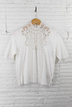 Load image into Gallery viewer, Scotch & Soda Lace neck tee