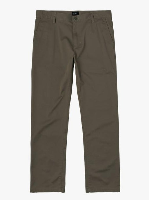 THE WEEKEND STRETCH STRAIGHT FIT PANT OLIVE