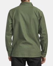 Load image into Gallery viewer, RVCA MENS FUBAR SHIRT JACKET SEQUOIA GREEN