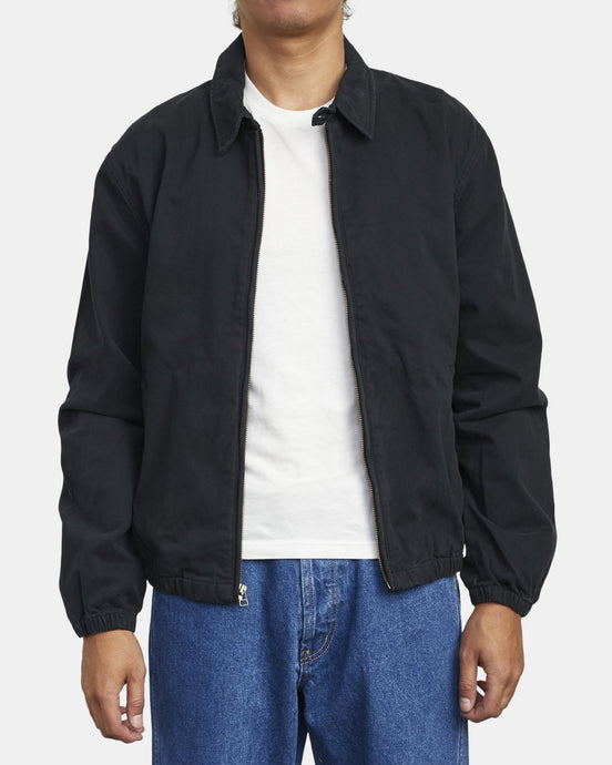RVCA PISTON JACKET RVCA BLACK