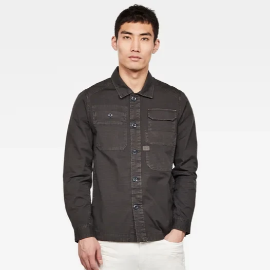 G STAR MULTIPOCKET SHIRT RAVEN