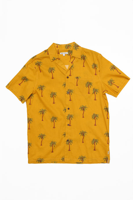BANKS JOURNAL PALM DREAMS SHORT SLEEVE BUTTON UP
