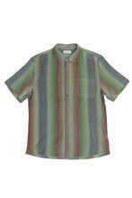 Load image into Gallery viewer, RAGA MAN LINEN SHORT SLEEVE BUTTON UP