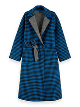 Load image into Gallery viewer, SCOTCH & SODA REVERSIBLE WOOL LONG LINE COAT
