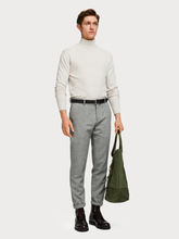 Load image into Gallery viewer, SCOTCH & SODA CLASSIC TURTLENECK ECRUMELANGE