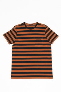 SCOTCH & SODA MENS STRIPE CREW TEE