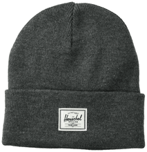 Load image into Gallery viewer, HERSCHEL ELMER BEANIE HEATHER CHARCOAL