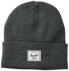 HERSCHEL ELMER BEANIE HEATHER CHARCOAL