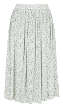 Load image into Gallery viewer, THE KORNER FLARED CREPE MIDI SKIRT