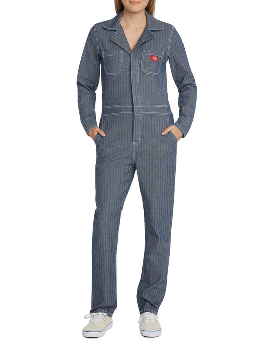 DICKIES STONEWASHED INDIGO COVERALLS