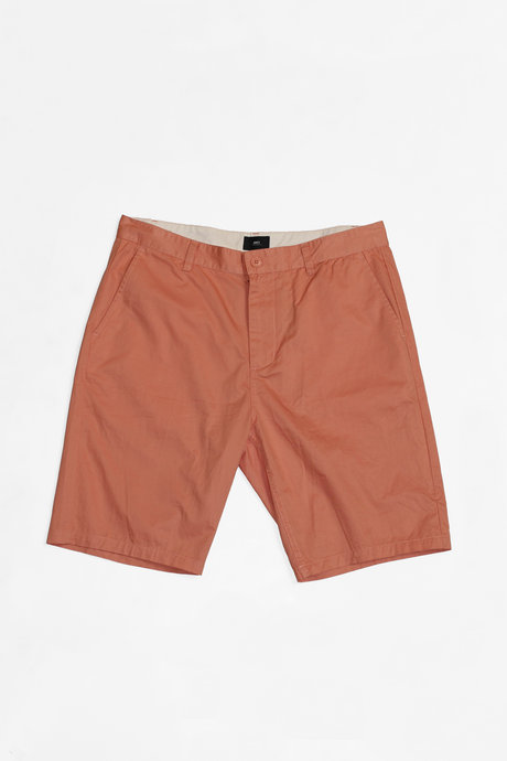 OBEY STRAGGLER SHORTS DUSTY ROSE