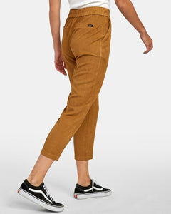 RVCA MANILA PANT ANTIQUE BROWN