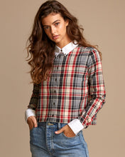 Load image into Gallery viewer, RVCA REX PLAID BUTTON UP SHIRT
