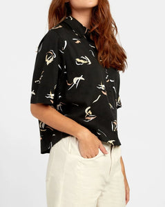 RVCA FOREIGN BUTTON UP SHIRT