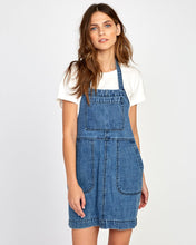 Load image into Gallery viewer, RVCA BOLT OUT DENIM DRESS
